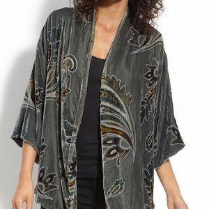 Winter Kate 'Starlight Velvet Kimono Jacket NWOTS